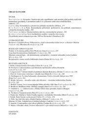 OBSAH 56/SN3/2008 ŠTÚDIE N a v r á t i l o v á, Alexandra ...