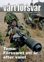 3/2011 - Allmänna Försvarsföreningen