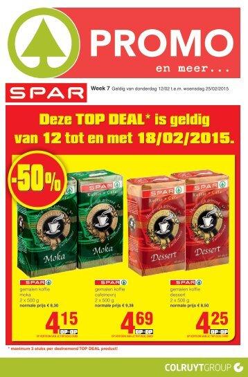 Eurospar folder 12 t/m 25 februari 2015