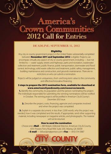 America's Crown Communities - American City & County Magazine