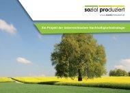 Ein Projekt der österreichischen ... - Sozial-Produziert