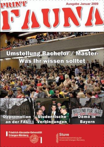 Umstellung Bachelor / Master- Was Ihr wissen solltet - Stuve Uni ...