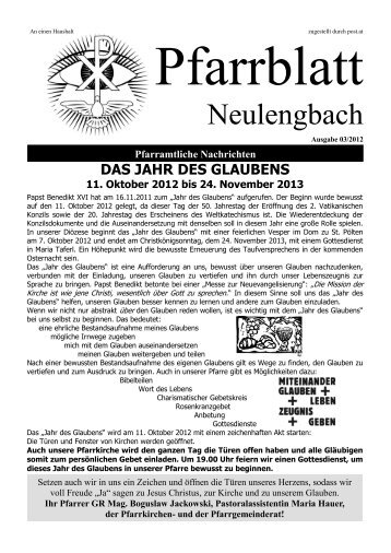 5,20 MB PDF in neuem Fenster öffnen - Pfarre Neulengbach