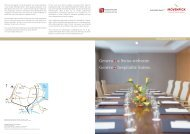 Fact Sheet Mövenpick Hotel Geneva French - Gate24.ch