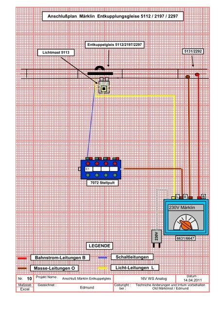 5113 zu 5112 Entkupplungsgleis Märklin HO Lichtmast 3601 EKL geprüft