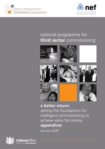Third Sector Commissioning - A Better Return Appendix - Shrop.NET