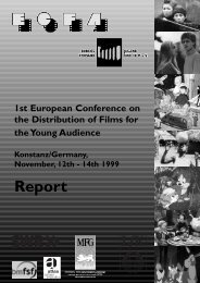 Report - European Children's Film Association