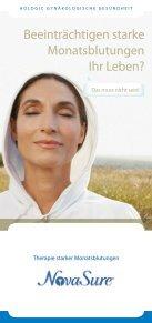 Beeinträchtigen starke Monatsblutungen Ihr Leben? - Page 2