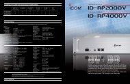 ID-RP2000V ID-RP4000V - ICOM Canada