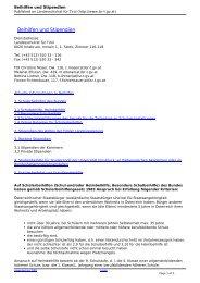 Beihilfen und Stipendien - BRG/BORG Telfs