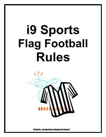 i9 Sports Flag Football Rules