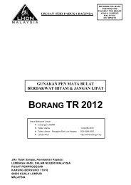 BORANG TR 2012 - Lembaga Hasil Dalam Negeri
