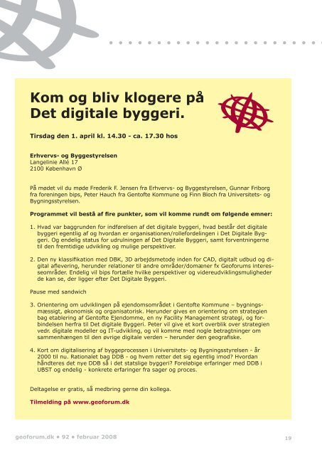 92 geoforum.dk - GeoForum Danmark