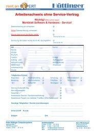 Merkblatt Software & Hardware - Service!