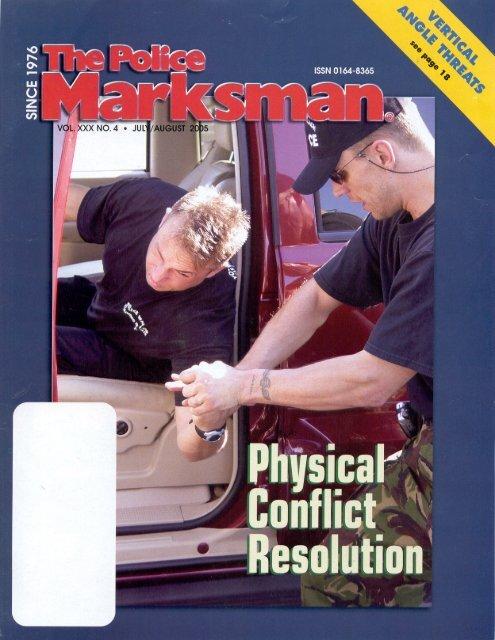 Police Marksman - July/Aug '05 - Strategos International
