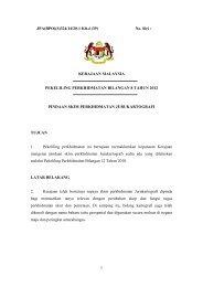 PEKELILING PERKHIDMATAN BILANGAN 8 TAHUN 2012 - JPA
