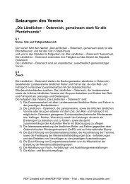Satzungen Juli 2011 (PDF) - Ländliche Reiter und Fahrer in ...