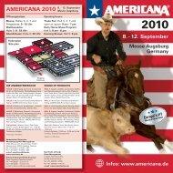 AMERICANA 2010 - A3 Wirtschaftskalender