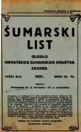 ÅUMARSKI LIST 10-12/1921