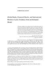 Global Banks, Financial Shocks and International ... - Robert Kollmann