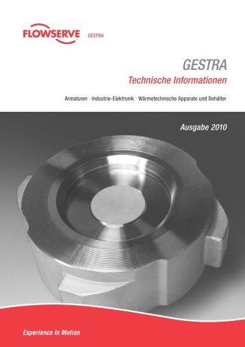GESTRA Technische Informationen