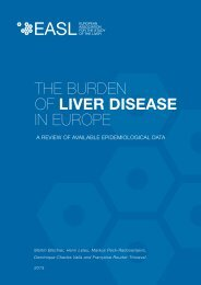 The Burden of Liver Disease in Europe - Literature Review