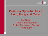 Business Opportunities in Hong Kong and Macao - Emita