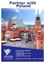 Partner with Poland Flyer - Emita