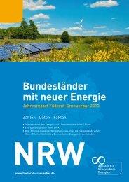Bundesländer mit neuer Energie - EnergieDialog.NRW