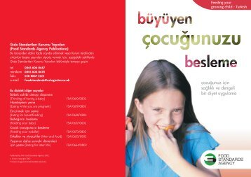 Growing child Turkish a/w - Food Standards Agency