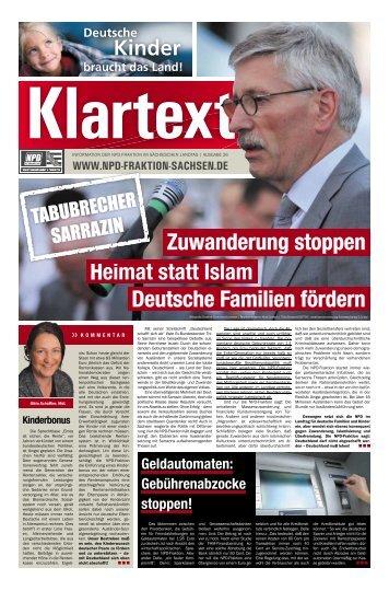 Ausgabe 26 - NPD-Fraktion im Sächsischen Landtag