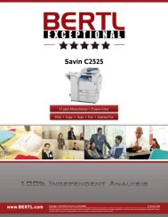SAVIN C2525 - Savin Corporation