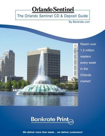The Orlando Sentinel CD & Deposit Guide