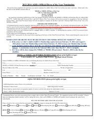 2013-14 AQHA Horse of the Year Nomination Form - National High ...