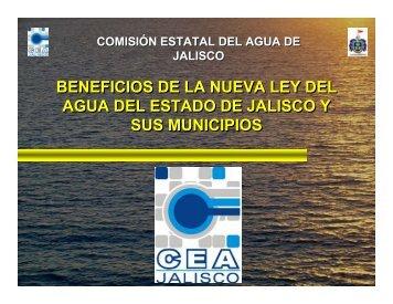 beneficios de la nueva ley del agua del estado de jalisco y sus ...