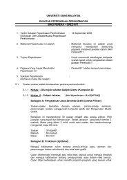 Pereka (B11) - Jabatan Pendaftar - Universiti Sains Malaysia