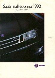 Saab mallivuonna 1992