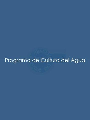 Programa de Cultura del Agua