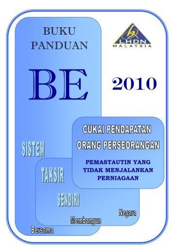 Buku Panduan BE 2010 - Lembaga Hasil Dalam Negeri