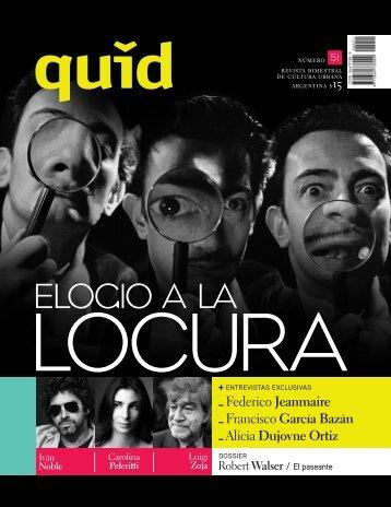 Revista Quid N°51