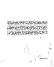Convenio de Coodinación entre el Organismo de Cuenca Lerma ...