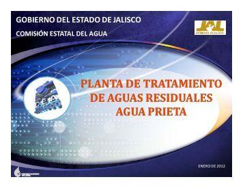 """planta de tratamiento """"Agua Prieta"""" - Comisión Estatal del Agua de ..."""
