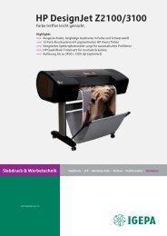 Datenblatt HP DesignJet #3CF11A