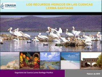 Los Recursos Hidricos en las Cuencas Lerma–Santiago - Comisión ...