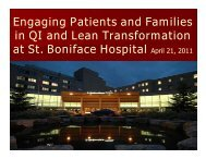 Patient and Family - Health Care Quality Summit