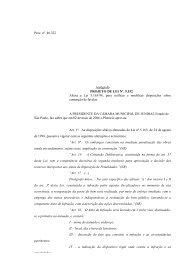 Proc. nº. 46.322 Autógrafo PROJETO DE LEI Nº. 9.532 Altera a Lei ...