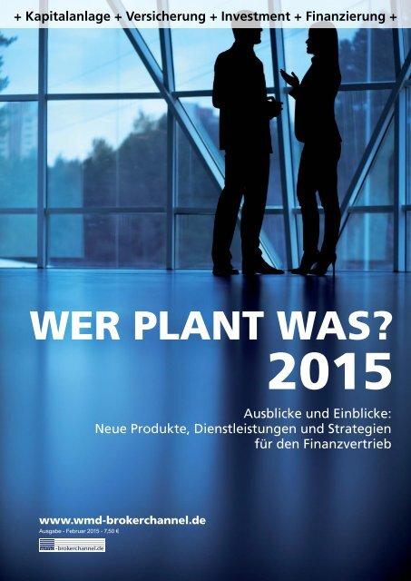 Wer plant was? 2015