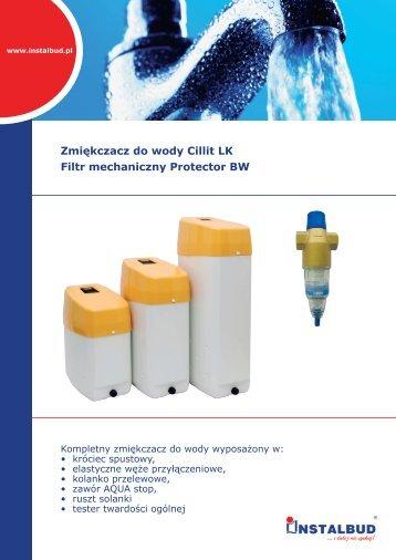 Zmiękczacz do wody Cillit LK Filtr mechaniczny Protector ... - Instalbud