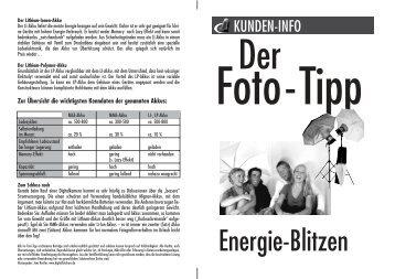 Energie-Blitzen - FotoStudio8