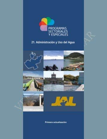 Programa Sectorial - Comisión Estatal del Agua de Jalisco